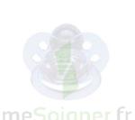Bébisol Sucette F physiologique silicone transparente / 1er âge à PODENSAC