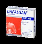 DAFALGAN 500 mg, comprimé effervescent sécable à PODENSAC