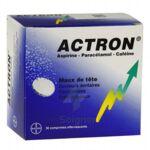 ACTRON, comprimé effervescent à PODENSAC