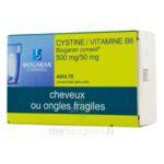 CYSTINE / VITAMINE B6 BIOGARAN CONSEIL 500 mg/50 mg, comprimé pelliculé à PODENSAC