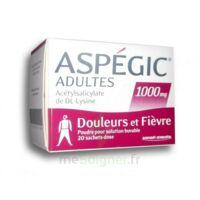 ASPEGIC ADULTES 1000 mg, poudre pour solution buvable en sachet-dose 20 à PODENSAC