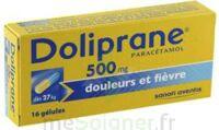 DOLIPRANE 500 mg Gélules B/16 à PODENSAC