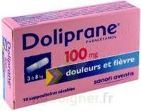 DOLIPRANE 100 mg Suppositoires sécables 2Plq/5 (10) à PODENSAC