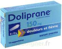 DOLIPRANE 150 mg Suppositoires 2Plq/5 (10) à PODENSAC
