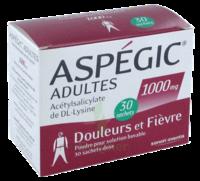 ASPEGIC ADULTES 1000 mg, poudre pour solution buvable en sachet-dose 30 à PODENSAC