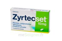 ZYRTECSET 10 mg, comprimé pelliculé sécable à PODENSAC
