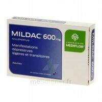 MILDAC 600 mg, comprimé enrobé à PODENSAC