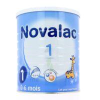 NOVALAC LAIT 1 , 0-6 mois BOITE 800G à PODENSAC