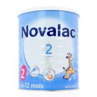 NOVALAC LAIT 2, 6-12 mois BOITE 800G à PODENSAC