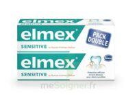 ELMEX SENSITIVE DENTIFRICE, tube 75 ml, pack 2 à PODENSAC