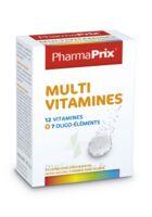 PHARMAPRIX Multivitamines Boîte 24 comprimés effervescents à PODENSAC