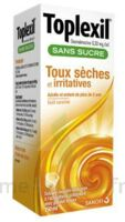 TOPLEXIL 0,33 mg/ml sans sucre solution buvable 150ml à PODENSAC