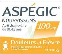 ASPEGIC NOURRISSONS 100 mg, poudre pour solution buvable en sachet-dose à PODENSAC