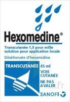 HEXOMEDINE TRANSCUTANEE 1,5 POUR MILLE, solution pour application locale à PODENSAC