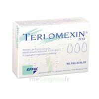 TERLOMEXIN 200 mg, capsule molle vaginale à PODENSAC