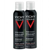 VICHY mousse à raser peau sensible LOT à PODENSAC
