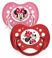 Dodie Disney sucettes silicone +18 mois Minnie Duo à PODENSAC