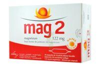 MAG 2 SANS SUCRE 122 mg, solution buvable en ampoule édulcoré à la saccharine sodique à PODENSAC