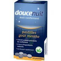 DOUCENUIT ANTIRONFLEMENT PASTILLES à la menthe, bt 16 à PODENSAC