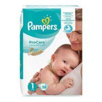 PAMPERS PROCARE PREMIUM Couche protection T1 2-5kg Paq/38 à PODENSAC