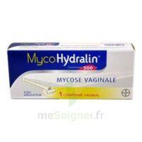 MYCOHYDRALIN 500 mg, comprimé vaginal à PODENSAC