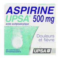 ASPIRINE UPSA 500 mg, comprimé effervescent à PODENSAC