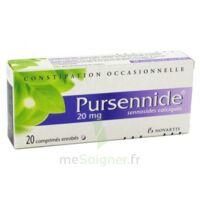 PURSENNIDE 20 mg, comprimé enrobé à PODENSAC