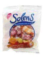 Solens bonbons tendres aux jus de fruits sans sucres à PODENSAC