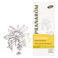 PRANAROM Huile végétale bio Macadamia 50ml à PODENSAC
