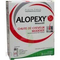 ALOPEXY 50 mg/ml S appl cut 3Fl/60ml à PODENSAC