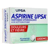 ASPIRINE UPSA TAMPONNEE EFFERVESCENTE 1000 mg, comprimé effervescent à PODENSAC