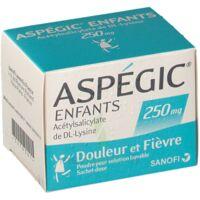 ASPEGIC ENFANTS 250, poudre pour solution buvable en sachet-dose à PODENSAC