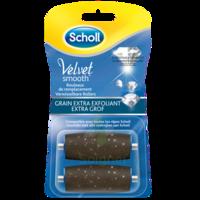 Scholl Velvet Smooth Rouleaux De Remplacement  Grain Extra Exfoliant à PODENSAC
