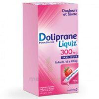 Dolipraneliquiz 300 mg Suspension buvable en sachet sans sucre édulcorée au maltitol liquide et au sorbitol B/12 à PODENSAC