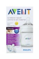 BIBERON AVENT NATURAL 125ML à PODENSAC