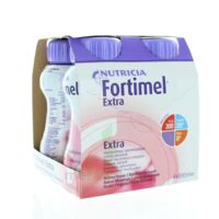 FORTIMEL EXTRA BOUTEILLE, pack 4 à PODENSAC